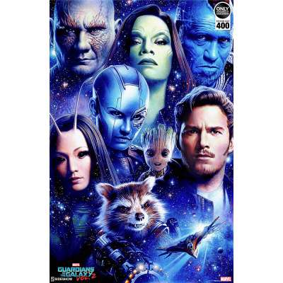 Marvel: Guardians of the Galaxy Vol. 2 - Unframed Art Print