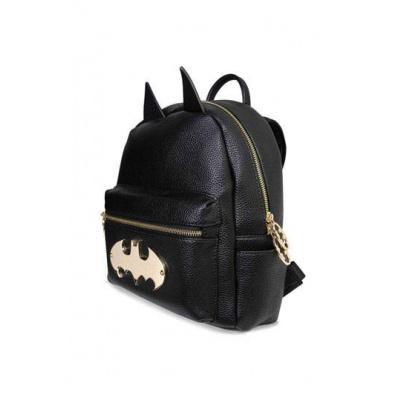 Batman Backpack Gold Logo