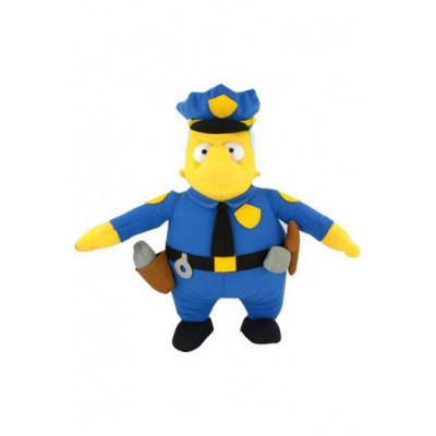 Simpsons Plush Figure Chief Wiggum 31 cm