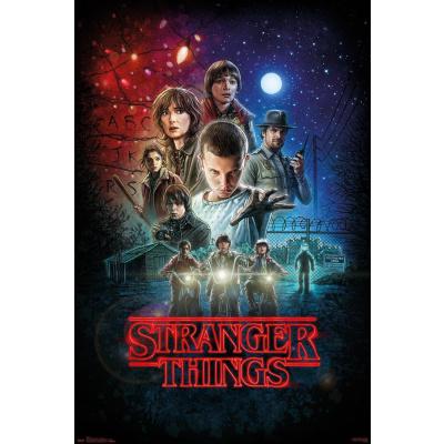 Stranger Things: One Sheet 91 x 61 cm Poster