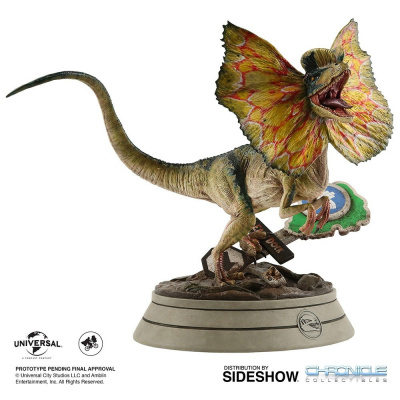 Jurassic Park: Dilophosaurus 1:4 Scale Statue