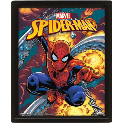 Marvel: Spider-Man Costume Blast 3D Lenticular Poster