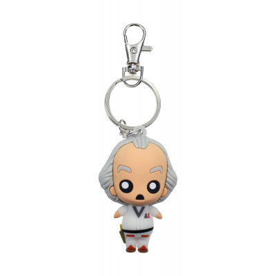Back to the Future: Doc Brown Pokis Keychain