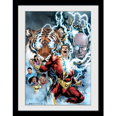 DC Comics: Shazam Collage Collector Print