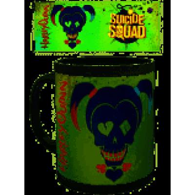 SUICIDE SQUAD - Mug - 300 ml - Harley Skull