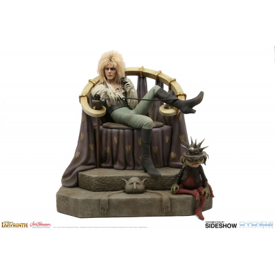 Labyrinth: Jareth on the Throne 1:4 Scale Statue