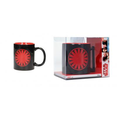 Star Wars The Last Jedi: First Order Symbol Black-Red Mug