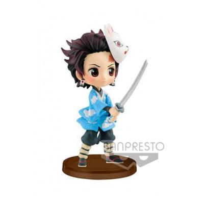 Demon Slayer Kimetsu no Yaiba figurine Q Posket Petit Tanjiro Kamado 7 cm