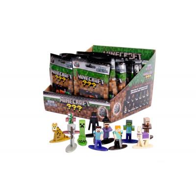 Minecraft assortiment figurines Diecast Nano Metalfigs 4 cm Wave 1