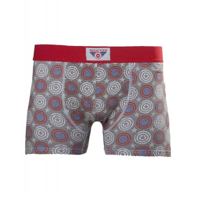 MARVEL Captain America Shield Men's Boxer Shorts