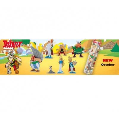 Asterix: Asterix Battle the Gallic Village Mini Figure 7-Pack