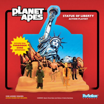 Planet of the Apes: Statue of Liberty ReAction Playset