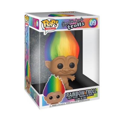 Pop! Movie: Trolls - 10 inch Troll with Multicolored Hair Asst.