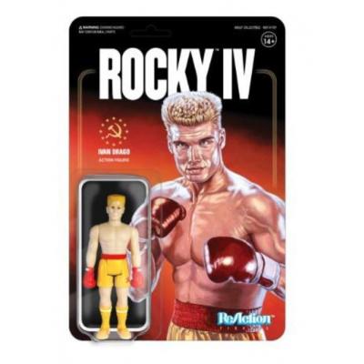 Rocky 4: Ivan Drago - 3.75 inch ReAction Figure