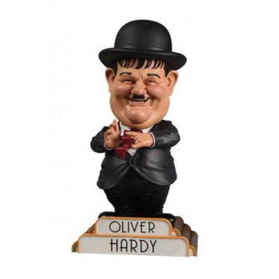 Laurel et Hardy Bobble Head Oliver Hardy in Suit 20 cm
