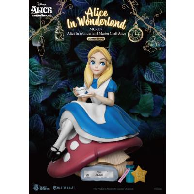 Disney: Alice in Wonderland - Master Craft Alice Statue
