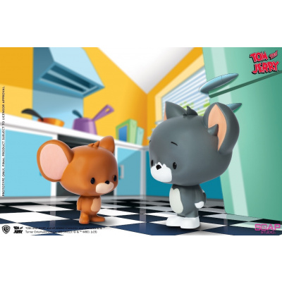 Tom and Jerry: Chibi Tom and Jerry Vinyl Figurine Set