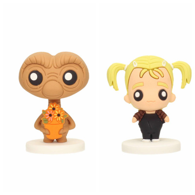E.T.: E.T. with Plant and Gertie 2 Pokis Figures Set