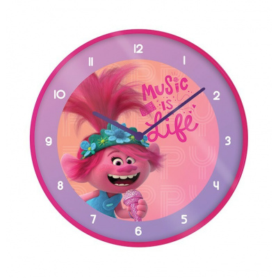 Trolls World Tour: Music Is Life 10 inch Clock