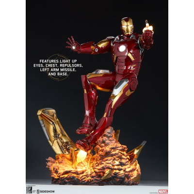 Marvel: The Avengers - Iron Man Mark VII Maquette