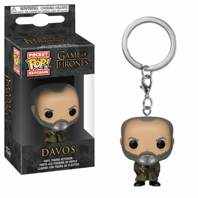 POP Keychains: Game of Thrones S10 - Davos