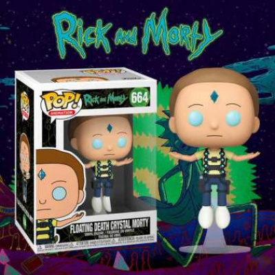 POP Animation: Rick & Morty - Flying Death Crystal Morty Excl.