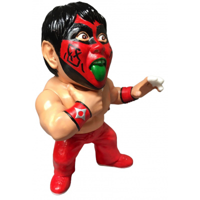 Legend Masters: The Great Muta 90s Red Paint Soft Vinyl Statue
