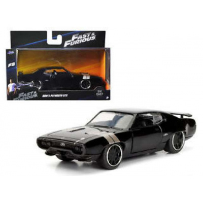 Fast and Furious 8: Doms Plymouth GTX 1:32