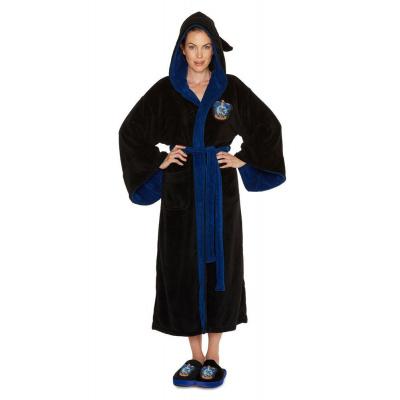 Harry Potter Ladies Fleece Bathrobe Ravenclaw