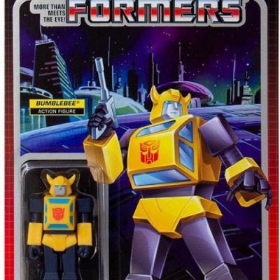Transformers: Bumblebee - 3.75 inch Wave 1 ReAction Figure