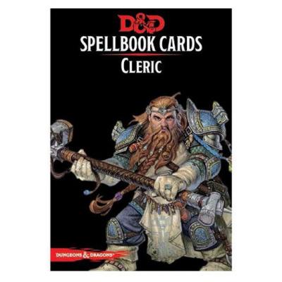 Dungeons & Dragons jeu de cartes Spellbook Cards: Cleric Deck *ANGLAIS*