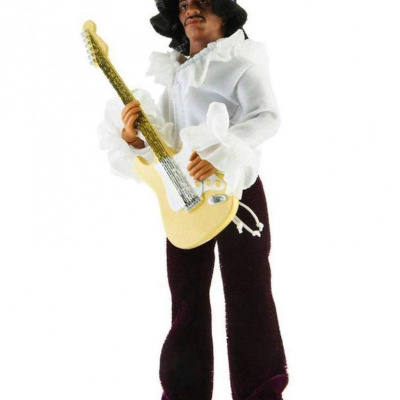 Jimi Hendrix: Miami Mego Retro Style Action Figure