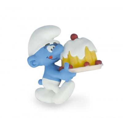 The Smurfs: Smurf with Cake Magnet