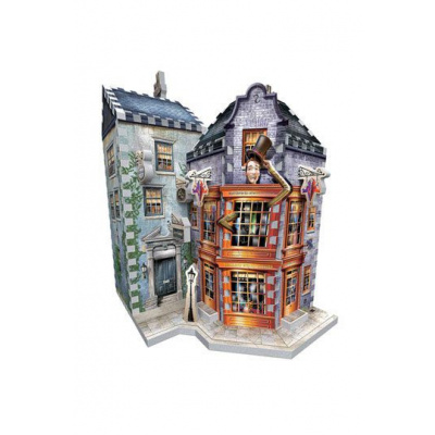 Harry Potter Puzzle 3D DAC Weasley's Wizard Wheezes & Daily Prophet