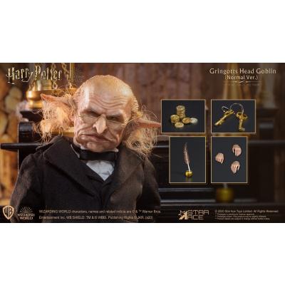 Harry Potter: Gringotts Head Goblin 1:6 Scale Figure