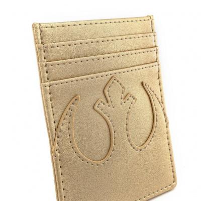 Loungefly Star Wars Gold Rebel Cardholder
