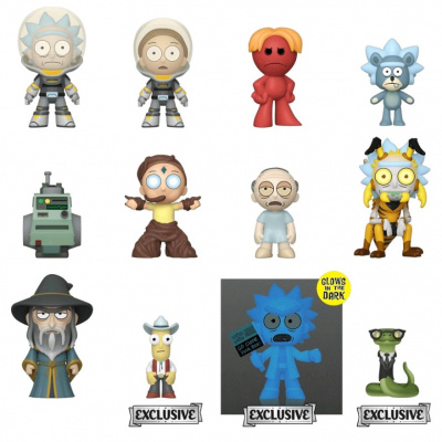 MM: Rick & Morty - 1 Stuk Excl