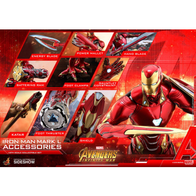 Marvel: Avengers Infinity War - Iron Man Mark L Accessories Set
