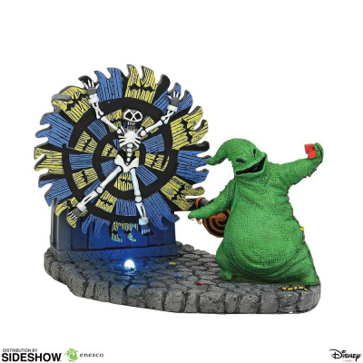 The Nightmare Before Christmas: Oogie Boogie Gives a Spin Figurine