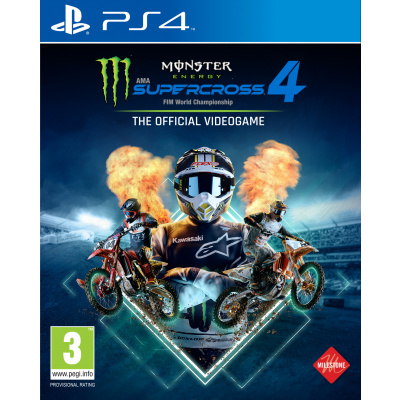 Monster Energy Supercross 4: The Official Videogame (PS4)