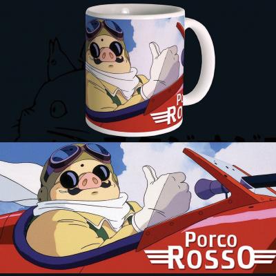 Studio Ghibli mug Porco Rosso