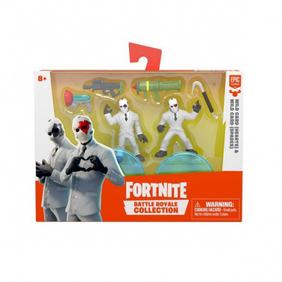 Fortnite Battle Royale Collection Action Figure 2pk - Wild Card (Hearts) & Wild Card (Spades)