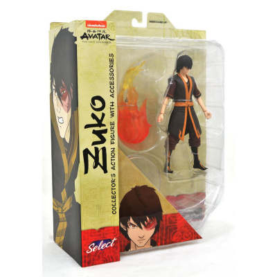 Avatar The Last Airbender 6 Inch Action Figure Select Series - Zuko