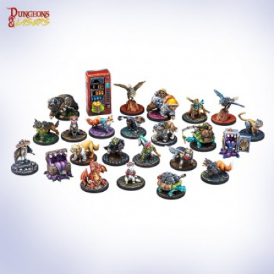 Dungeons & Lasers - Animal Companions