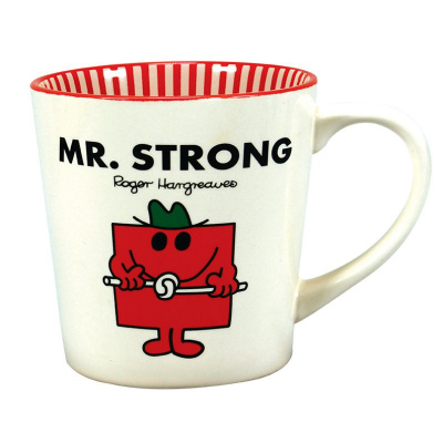 Mr. Men and Little Miss: Mr. Strong Mug