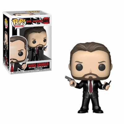 Die Hard POP Movies Vinyl Figure Hans Gruber 669