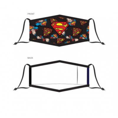 DC Comics: Superman Adjustable Face Mask