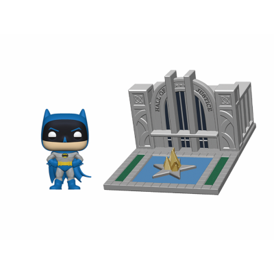 POP Towns: Batman 80th - Hall of Justice w/Batman