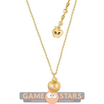 Disney Snow White Poison Apple Necklace (Yellow Gold)