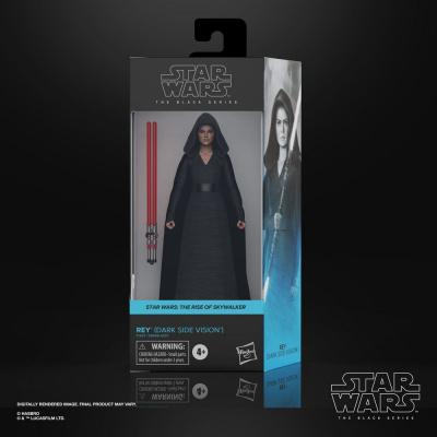 Star Wars Black Series 2021 Wave 1: Rey (Dark Side Vision) (Episode IX)